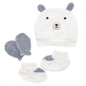 ست سه تکه نوزادی پاپو papo مدل خرس