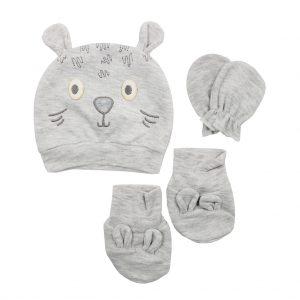 ست سه تکه نوزادی پاپو papo مدل موش