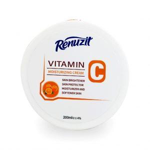 کرم مرطوب کننده رینوزیت حاوی ویتامین C حجم 200 میل